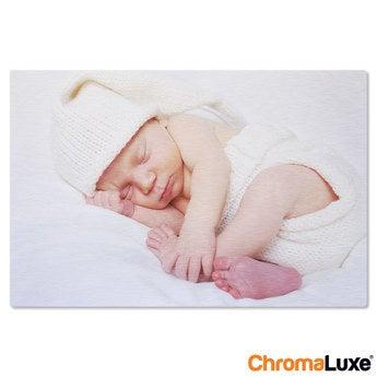 Chromaluxe Aluminium photo - Brushed - 75x50cm