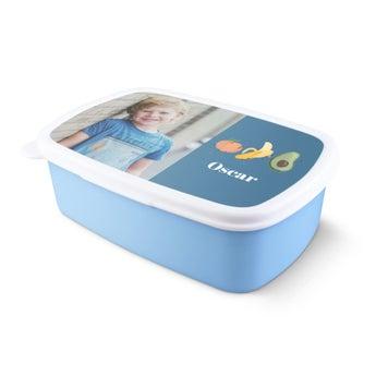 Boîte à goûter personnalisée - Bleu claire