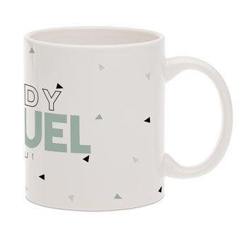 Father's Day mug with name