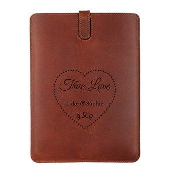 iPad Air 2 bőr tok - Brown