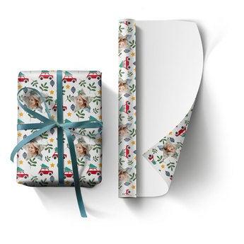 Ajándékpapír fotóval (XL)