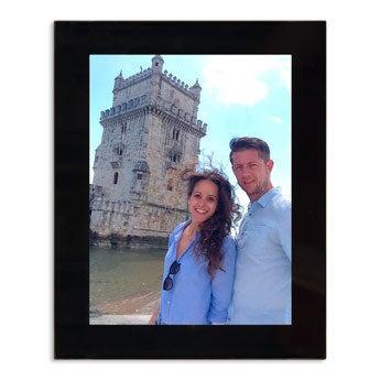 Glass photo frames - Black - 13x18cm