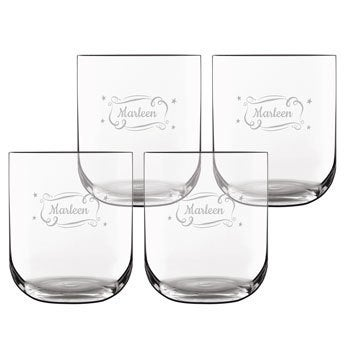 Luxurious water glass (4 pieces)