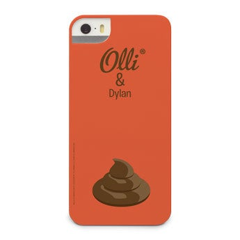 Olli - iPhone 5 - foto case rondom bedrukt