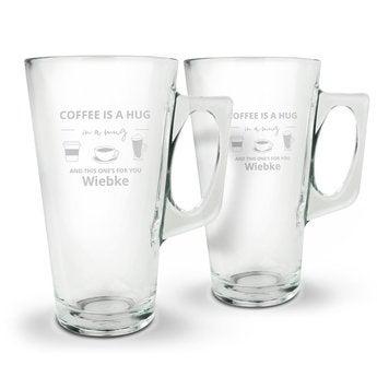 Latte Macchiato Glas - Set von 2