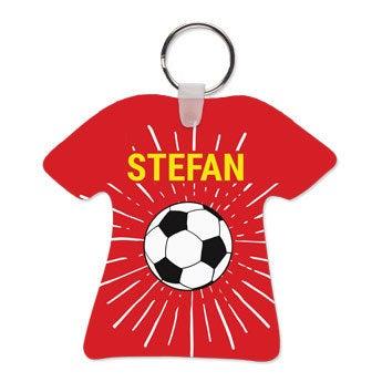 WK sleutelhanger - Voetbalshirt