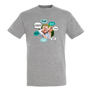 Camisa abuelo - Gris - L