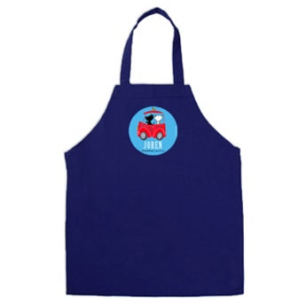 Pim & Pom barneforkle - Blå