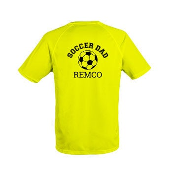 Sportshirt - Heren - L - Geel