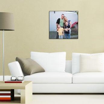ChromaLuxe wooden photo panel - 50x50