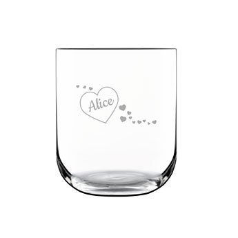 Luxurious water glass
