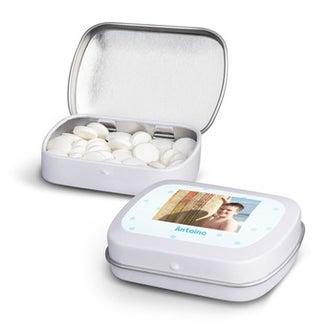 Boîte de pastilles à la menthe