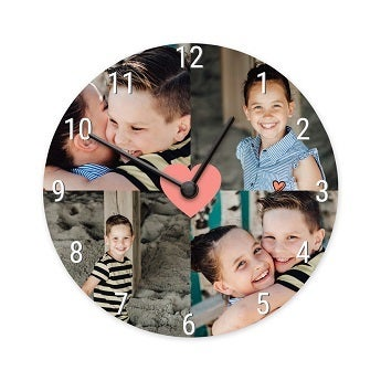 Horloge - Ronde moyenne