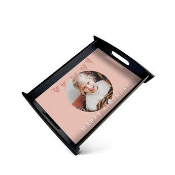 Serving Tray Small Black