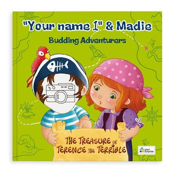 Jack & Madie - Pirates - Boys - Hardcover