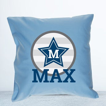 Light Blue children's cushion