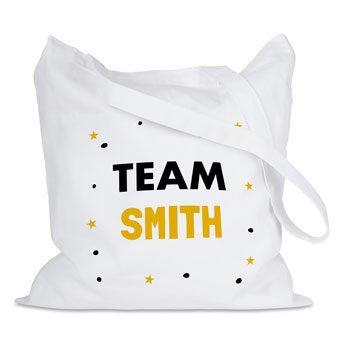 Bawełniane torby - białe