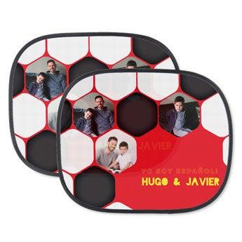 Parasoles para el coche de la Copa Mundial