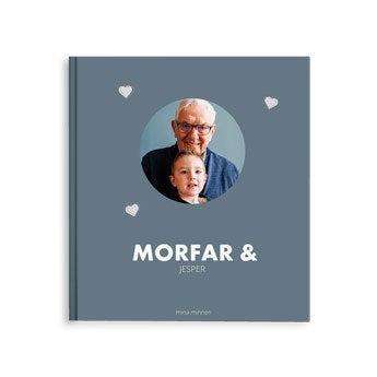 Fotobok - Morfar/Farfar - M - HC - 40 sidor