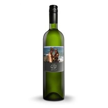 Luc Pirlet Sauvignon Blanc - Met bedrukt etiket