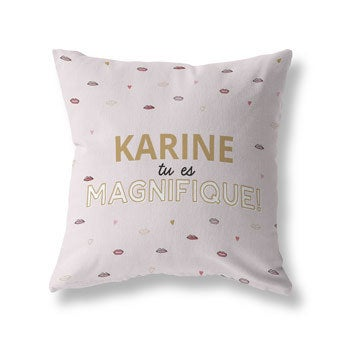 Coussin photo recto-verso - Coton 40x40