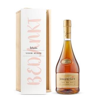 Joseph Guy cognac- In bedrukte kist