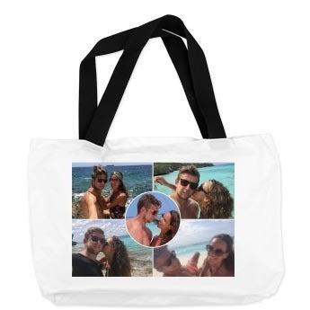 Bolso de playa con foto