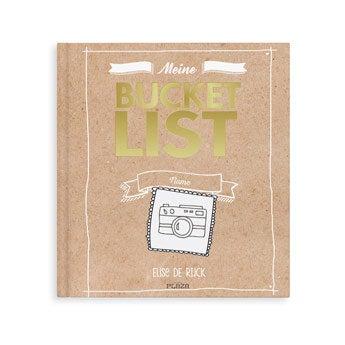 Bucket List Buch