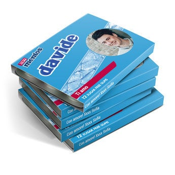 Mentos chewing gum - 48 confezioni