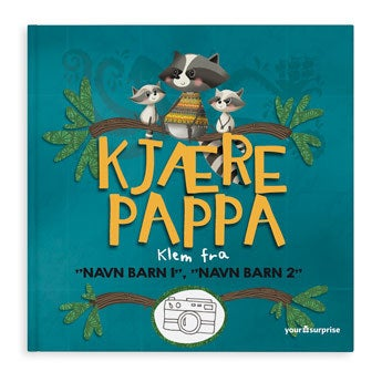 Kjære pappa - soft cover