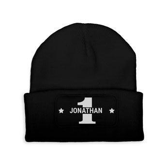 Custom czapka - czarny