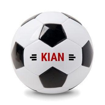 Personalizovaný fotbal s názvem