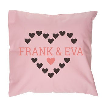 Love cushion case