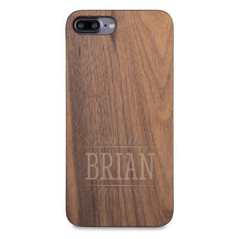 Drevené puzdro na telefón - iPhone 7 plus