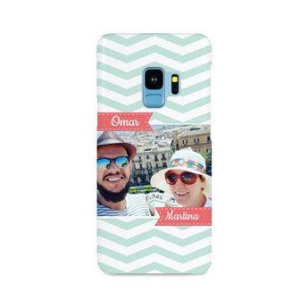 Galaxy S9 Handyhülle - rundum bedruckt