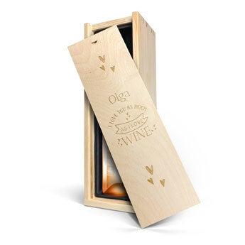 Ramon Bilbao Rosado - Kiste mit Gravur