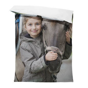 Sengetøj med eget billede - 140x200cm