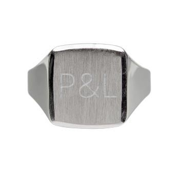 Silver signet ring - Men (19)