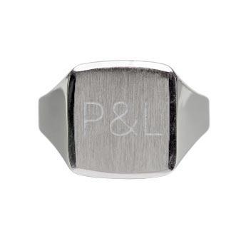 Stříbrný prsten - muži (19)