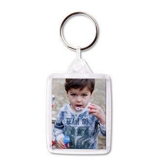 Schlüsselanhänger mit Foto - Set von 3