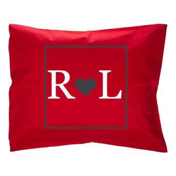 Cushion case - Red - 50 x 60 cm