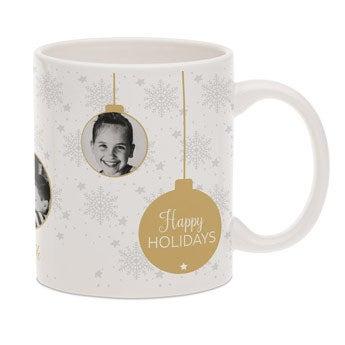 Taza personalizada  - Blanco - Navidad