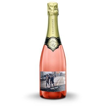 René Schloesser rosé 750ml - nyomtatott címkével
