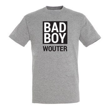 T-shirt - Man - Grijs - XXL