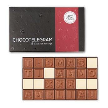Telegramma di cioccolato - 36 caratteri