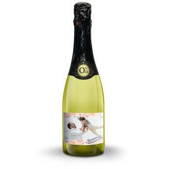 Vintense Blanc alcoholvrij - Met bedrukt etiket