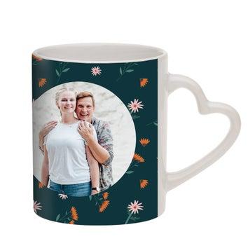 Tasse mit Foto - Herz