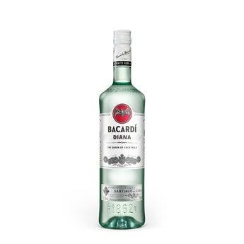 Bacardi witte rum - Met bedrukt etiket