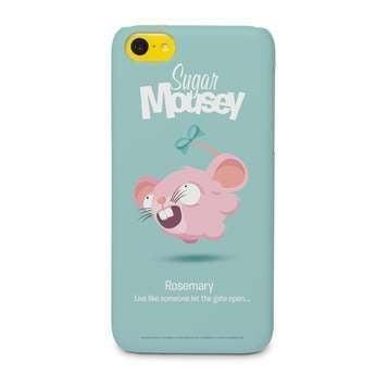 Sugar Mousey Hülle iPhone 5c-rundum bedruckt