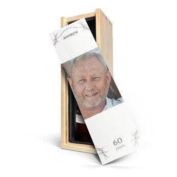 Vinho com caixa personalizada - Mwa De Meler Somontano